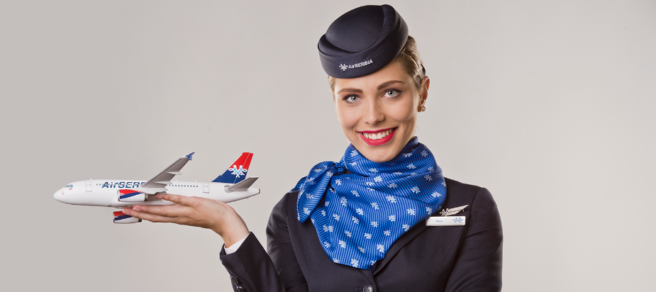 JOB ALERT: Air Serbia angajeaza stewardese