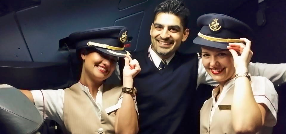 Povestea Andradei, fosta stewardesa Emirates