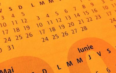 Toamna 2016. Calendar interviuri stewardese
