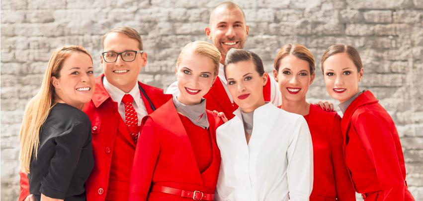 Noile uniforme Austrian Airlines