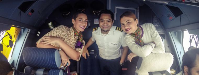 Jurnal de bord cu Andra, stewardesa Etihad. Jakarta