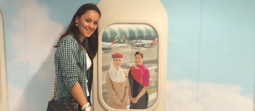 Povestea Irinei, viitoare stewardesa Emirates
