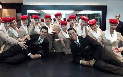 "Cum ""transformi"" un job de stewardesa intr-o cariera in aviatie"
