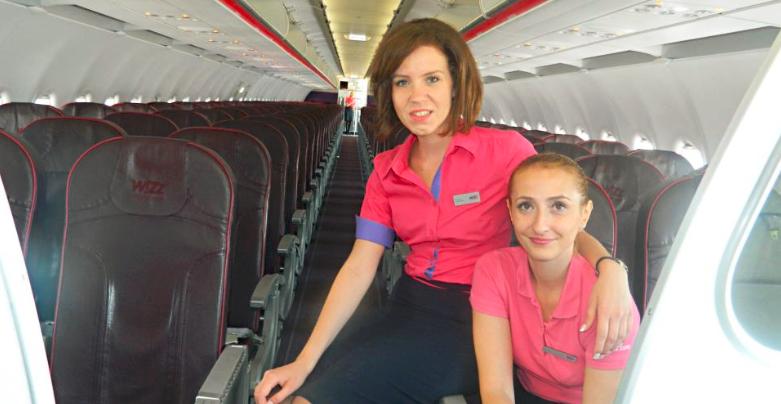 Povestea Ioanei, fosta stewardesa Wizz Air