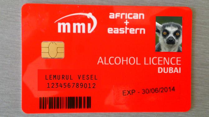 licenta alcool dubai