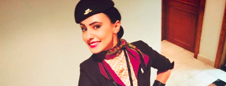 Povestea Ralucai, stewardesa Etihad