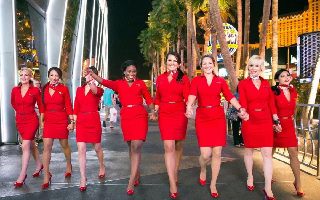 Virgin Atlantic angajeaza insotitori de bord fara experienta pentru baza din Londra